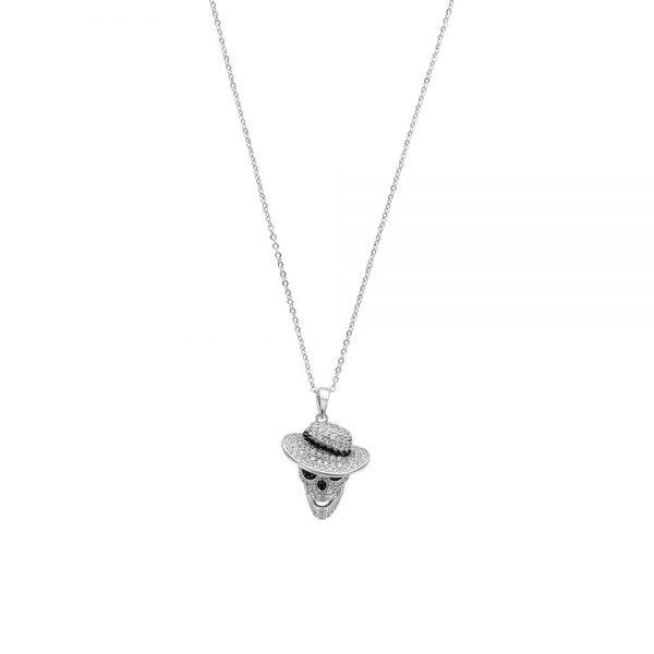 collier-tete-de-mort-classy-en-oxydes-de-zirconium-sur-argent-rhodie-925-1000-3-317365