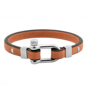 bracelet-manille-marron